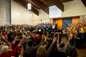Sandy Benefit Concert by  the Mystic Chorale and Family Folk Chorale